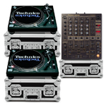Hire Technics 1210 Decks and Mixer