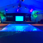 Hire White Dance Floor in Nottingham.